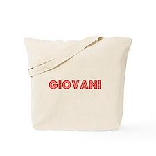 Retro Giovani (Red) Tote Bag