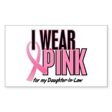 I Wear Pink For My Daughter-In-Law 10 Decal