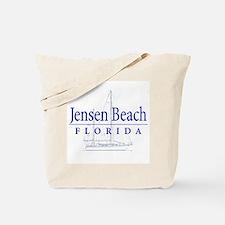 Jensen Beach Sailboat - Tote or Beach Bag