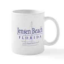 Jensen Beach Sailboat - Mug
