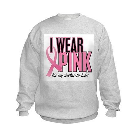 I Wear Pink For My Sister-In-Law 10 Kids Sweatshir