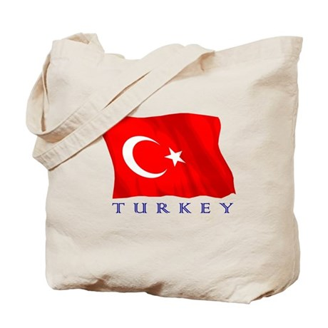 Turkish Flag Tote Bag