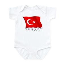 Turkish Flag (Istanbul) Onesie