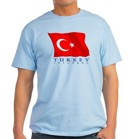 Turkish Flag (Istanbul) Light T-Shirt