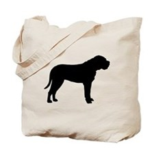Bullmastiff Dog Breed Tote Bag