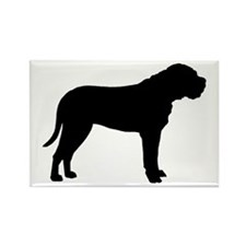 Bullmastiff Dog Breed Rectangle Magnet
