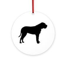 Bullmastiff Dog Breed Ornament (Round)