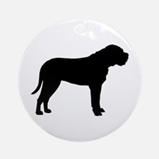Bullmastiff Dog Breed Ornament (Round)