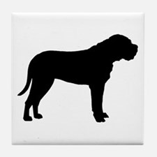 Bullmastiff Dog Breed Tile Coaster