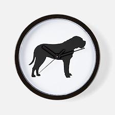 Bullmastiff Dog Breed Wall Clock