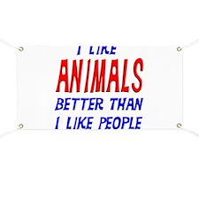 I Like Animals Banner