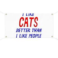 I Like Cats Banner