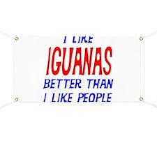 I Like Iguanas Banner