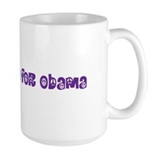 Earth Mama For Obama Mug
