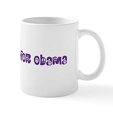 Earth Mama For Obama Mug