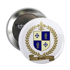 """BAUDRY Family Crest 2.25"""" Button (10 pack)"""