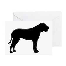 Bullmastiff Dog Breed Greeting Card