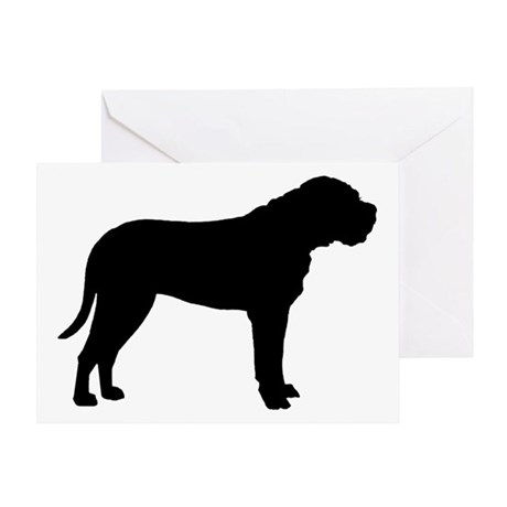 Bullmastiff Dog Breed Greeting Card