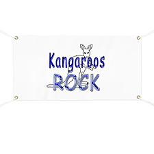Kangaroos Rock Banner