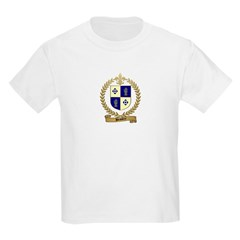 BEAUDRY Family Crest Kids T-Shirt