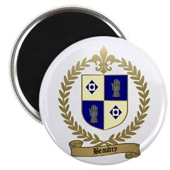 BEAUDRY Family Crest Magnet