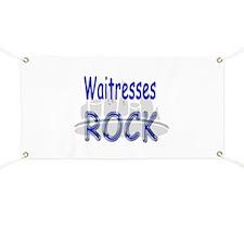 Waitresses Rock Banner