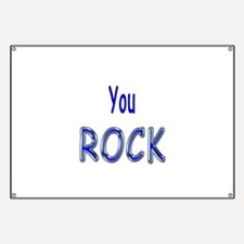 You Rock Banner