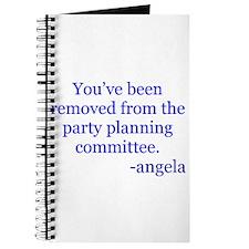 Funny Angela Journal