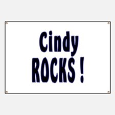 Cindy Rocks ! Banner