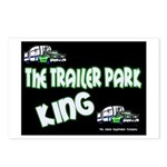 The Trailer Park King Postcards (Package of 8)