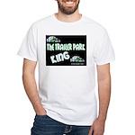 The Trailer Park King White T-Shirt