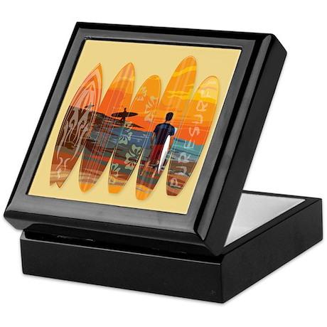 Pure Surfing Keepsake Box