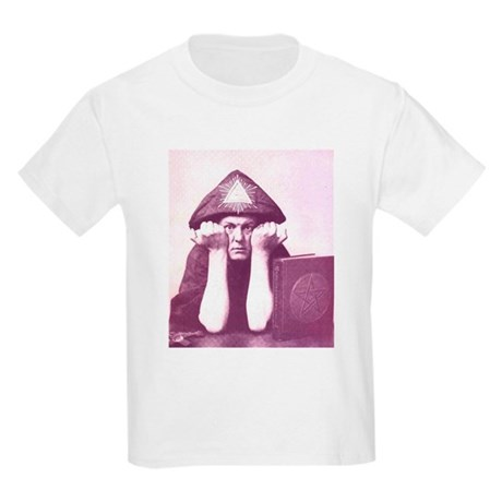 Aleister Crowley Kids Light T-Shirt
