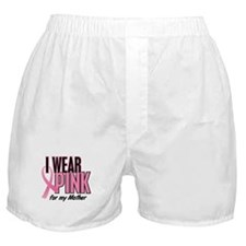 I Wear Pink For My Mother 10 Boxer Shorts