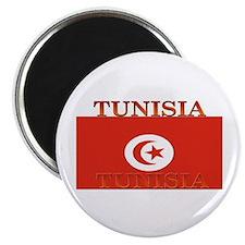 "Tunisia Tunisian Flag 2.25"" Magnet (100 pack)"