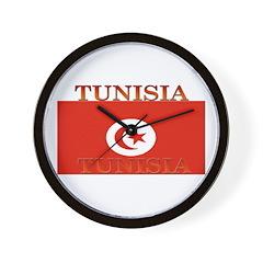 Tunisia Tunisian Flag Wall Clock