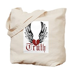 Truth Winged Heart Tote Bag