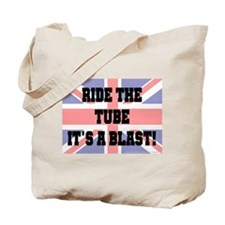 Ride the tube Tote Bag