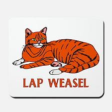 Lap Weasel Mousepad