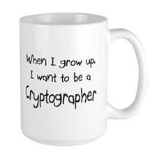 When I grow up I want to be a Cryptographer Mug