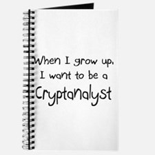 When I grow up I want to be a Cryptanalyst Journal