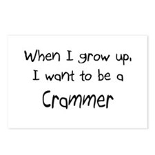 When I grow up I want to be a Crammer Postcards (P