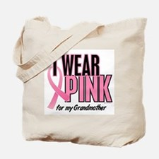I Wear Pink For My Grandmother 10 Tote Bag