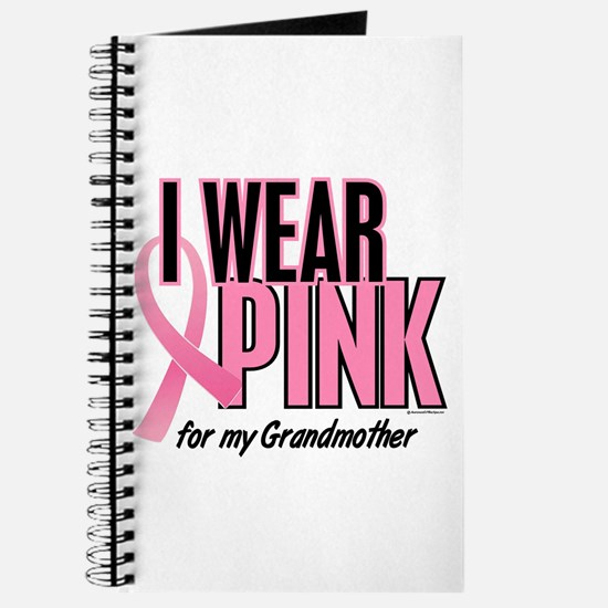 I Wear Pink For My Grandmother 10 Journal