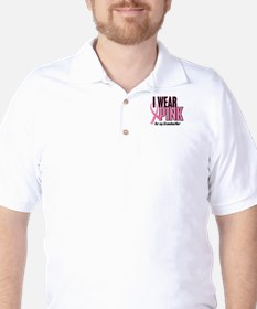 I Wear Pink For My Grandmother 10 Golf Shirt