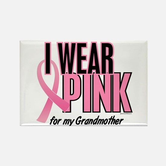 I Wear Pink For My Grandmother 10 Rectangle Magnet