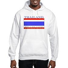 Thailand Thai Flag Hoodie