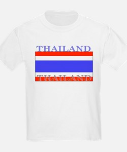 Thailand Thai Flag T-Shirt