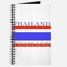 Thailand Thai Flag Journal