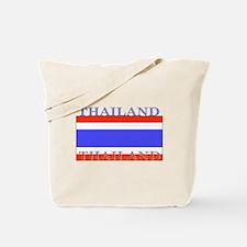 Thailand Thai Flag Tote Bag